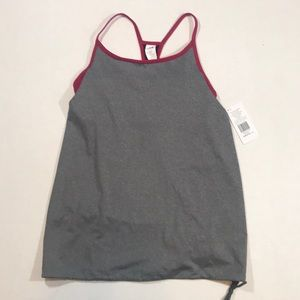 Fabletics Norwalk Red & Gray Tank Top NWT
